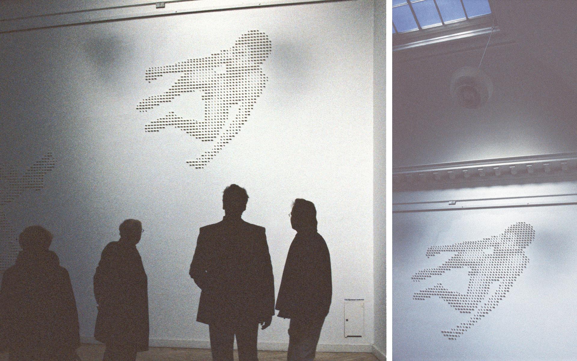 Floating States, Charlottenborg Art Space, Copenhagen. 2003