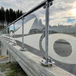 Svirr - 55 meter lang tegning, cnc-frest i platenes bakside
